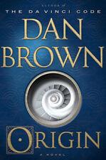 NEW ORIGIN : a Novel by DAN BROWN / Author of the Davinci Code [ Hardcover ]