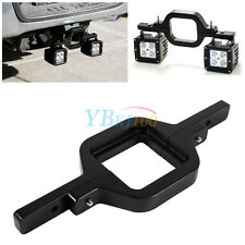 Tow Hitch Mount Bracket For Dual LED Backup Reverse Search Off Road Light SUV DH
