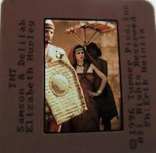 SAMSON AND DELILAH CAST Elizabeth Hurley Dennis Hopper Eric Thal 1995 SLIDE 5