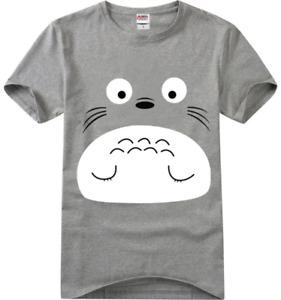 Studio Ghibli My Neighbour Totoro Cute Comfort Cotton T-shirt Anime Tee