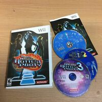Dance Dance Revolution Hottest Party 1 2 3 Nintendo Wii 3 Game Bundle