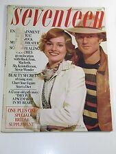 Seventeen Magazine- October 1973- Huck Finn, Macbeth, Stevie Wonder, Sly