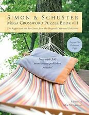 Simon and Schuster Mega Crossword Puzzle Book No. 11 (2011, Paperback)