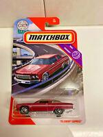 2020 Matchbox '75 Chevy Caprice #53/100 Red MBX Highway NIP