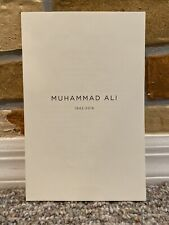 MUHAMMAD ALI FUNERAL PROGRAM JUNE 10, 2016 CELEBRATION OF LIFE MINT