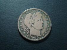 1900-O Barber Silver Half Dollar VG Nice!!