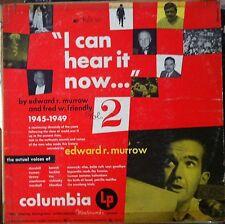 """MM-881 Edward R. Murrow """"I Can Hear It Now..."""" 1945-1949 Vol. 2"""