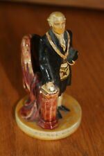 George Washington Figurine Sebastian Miniatures 1961 Pw Baston Statue Hand Paint