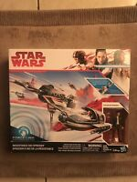 Star Wars The Force Awakens Resistance Ski Speeder with 3.75 inch Poe Dameron