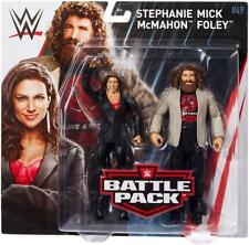 Mick Foley & Stephanie McMahon Battle Pack Series 49 WWE Mattel Brand New MT PKG