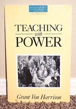 Teaching With Power Volume 5 by Grant Von Harrison MISSION SUCCESS SERIES LDS PB