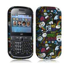Housse coque etui gel pour Samsung Chat 335 S3350 avec motif LM18