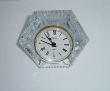 STAIGER FRENCH LEAD CRYSTAL QUARTZ CLOCK - MADE IN GERMANY