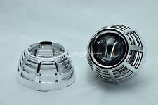 "2x G37-R Chrome HID Retrofit Headlight Projector Shroud Fit 2.5"" & 3"" Lens"