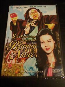 La Maravillosa Fabula De Blanca Nieves DVD
