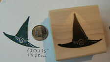 P95 Witches hat rubber stamp