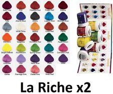 2x La Riche Directions Semi Permanent Hair Colour Dye - Choose Your Colour -