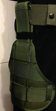 US Army Bianchi Bein Holster Leg Panel MP05 MOLLE II Modular Accessory Panel NEU