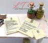HOGWARTS ACCEPTANCE LETTER Miniature Dollhouse 1:12 Scale Potter Magic Wizard