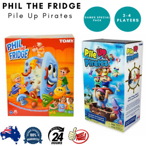 Tomy Phil the Fridge Pile Up Pirates Stacking Games for Kid Party Special Gift