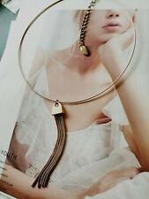 ANN TAYLOR Tassel Collar Necklace