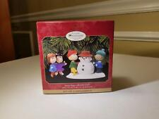 1999 Snow Day Peanuts Collector's Club Edition Hallmark Ornament QXC4517 - NIB