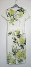 New Phase Eight Nika Floral Print Occasion Pencil Dress - Size 8