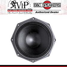 "B&C 8NDL51 8"" Neodymium Woofer, 400W 8-Ohm Pro Audio Midrange  / Midbass Speaker"
