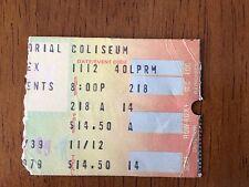 Ticket Stub From 1979 Fleetwood Mac Tusk Tour Nassau Coliseum
