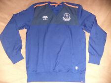 Everton umbro long sleeve blouse size L