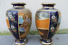 Très belle paire de vase SATSUMA fin 19ème en parfait état