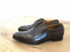 Finsbury Zapatos para hombre de lujo-Oxford-Marrón-Talla 8 UK/42 EU