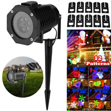 LED Moving Laser Projector Light Landscape IP65 Outdoor Xmas Party Garden Lamp