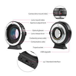 EF-M2II Auto Focus Lens Adapter 0.71X Per Canon EOS EF Lens To MFT M4 /3