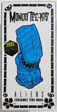 Mondo Aliens Ceramic Tiki Mug, Black Hive Variant Tee-kis