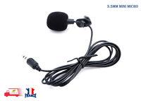 3.5mm Active Clip-sur Mini Micro-Cravate Microphone pour Téléphone Enregistremen