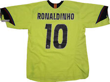 maglia Ronaldinho away Player Issue Barca  #10 NIKE 2005 2006 shirt jersey L