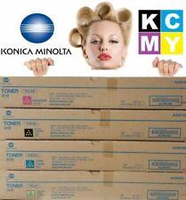 Genuine Konica Minolta TN512 SET Black Cyan Yellow Magenta BIZHUB C554 C454