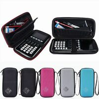 Carrying Storage Case Bag for Texas Instruments TI-84 83 89 Plus CE Calculator