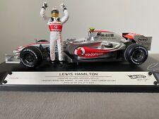 1:18 Hotwheels #M8742 Lewis Hamilton McLaren MP4/22 1st WIN Canada 2007 5,000pcs
