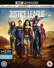 Justice League [2017] (4k Ultra HD + Blu-ray + Digital Download)