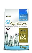 Applaws Cat Dry Kitten Chicken 7.5 Kg  Quality Pet Food - Large Bag