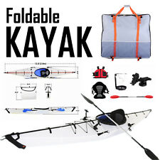 Foldable and Portable Kayak 12ft Lightweight Paddle Boat