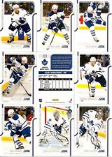 2011-12 Panini Score Glossy Toronto Maple Leafs Complete Master Team Set (14)