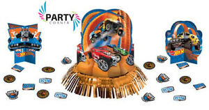 Hot Wheels Party Supplies TABLE DECORATING KIT With Confetti Genuine Licensed