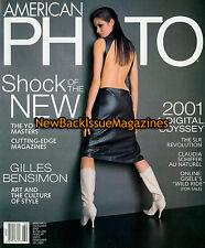 American Photo 1/01,Gilles Bensimon,January 2001,NEW