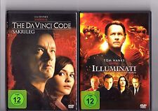 Illuminati / The Da Vinci Code - Sakrileg, 2 DVD (2012) #3574