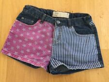 TAMMY denim shorts USA flag age 12 or 152 cm in excellent condition