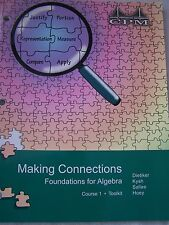 CPM Making Connections Foundations for Algebra Course 1 Toolkit 9781603280495