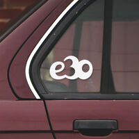 BMW e30 car sticker (vinyl decal for 3 series window or body)
